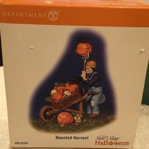 Department 56 Halloween haunted harvest new